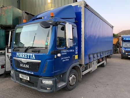 Curtainsiders Fleet