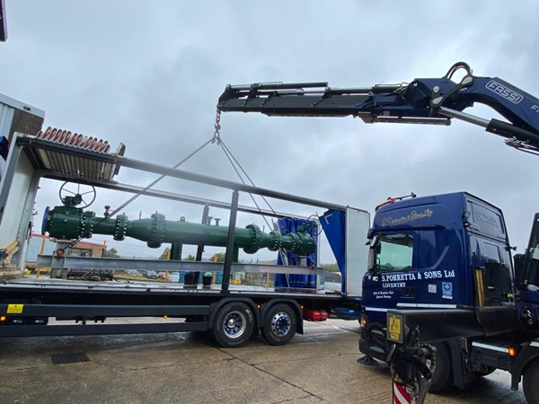 Crane Lorry Hire in The Midlands