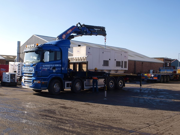 Hiab Lorry Hire in The Midlands